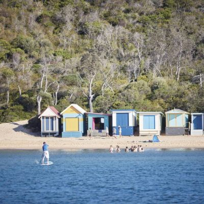 Bathing Boxes, Mornington Beach, VIC