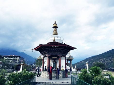 National Memorial Chorten, Thimphu Bhutan