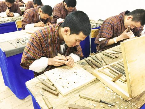 School of Arts and Crafts, Thimphu Bhutan