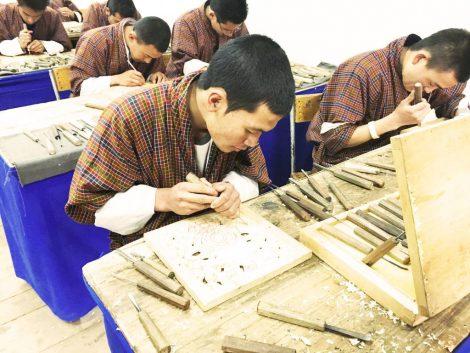 School of Arts and Crafts, Thimphu Bhutan