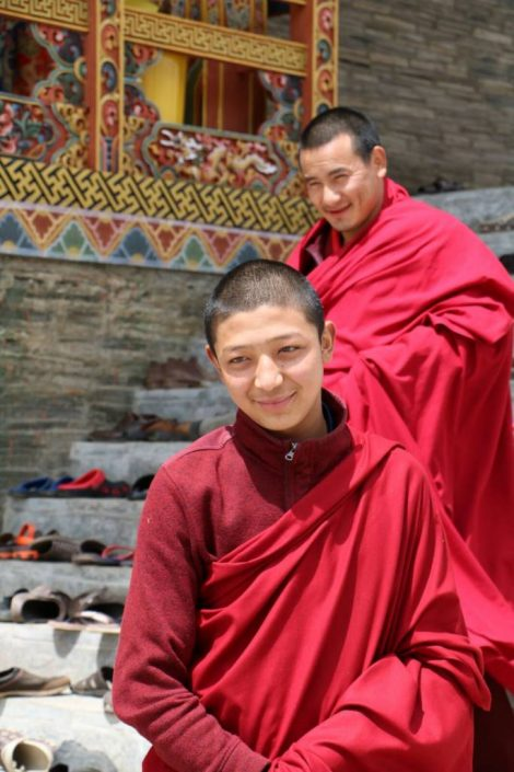 Young Bhutan Monks