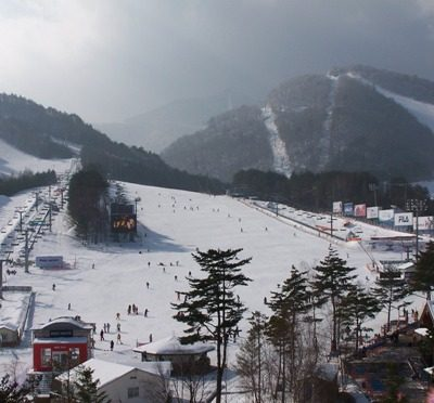 PyeongChang_Dragon_Valley_ski_resort