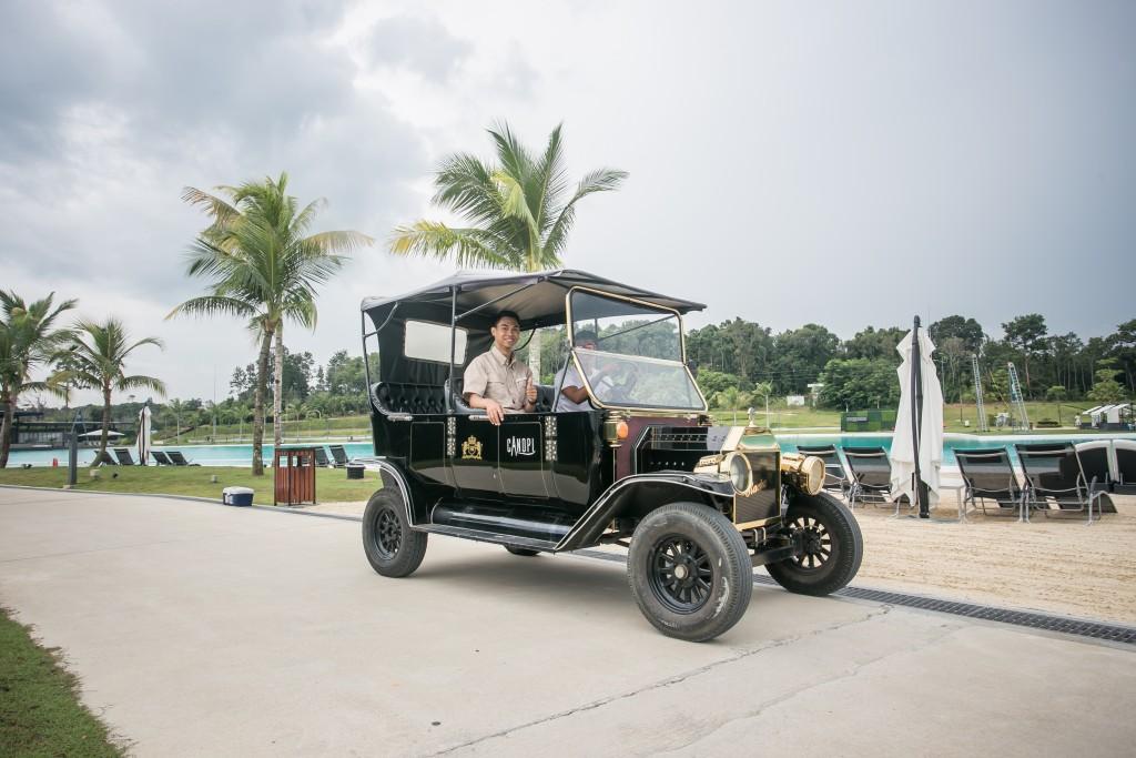 Bintan Canopi Model T Classic Car Ride